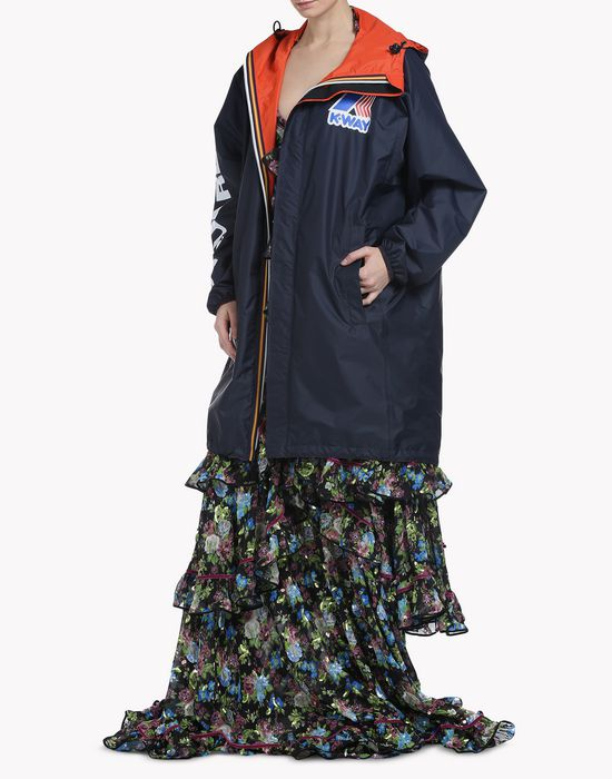 k-way reversible windbreaker parka manteaux & vestes Femme Dsquared2