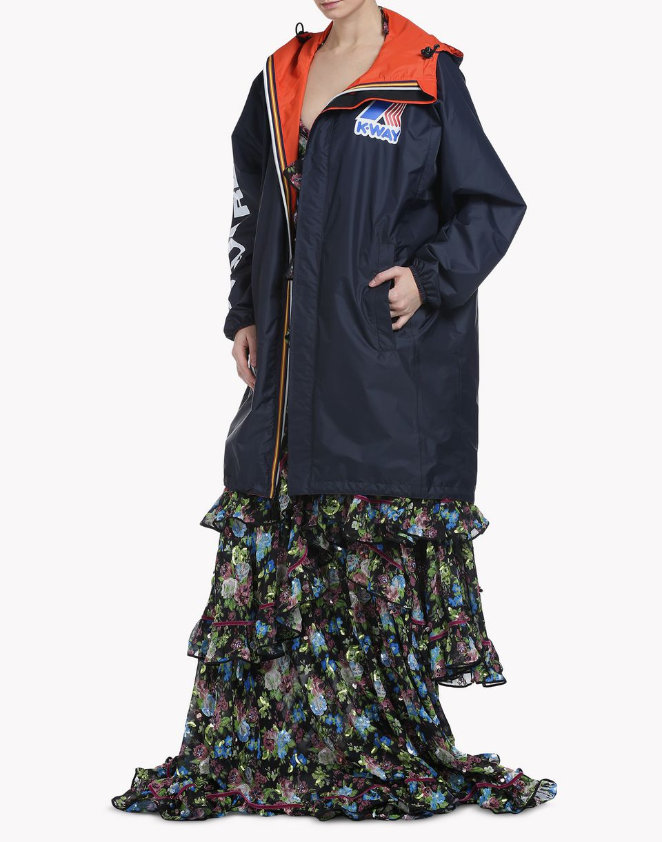 k-way reversible windbreaker parka mäntel & jacken Damen Dsquared2