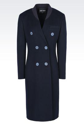 Armani Cappotti Donna cappotto doppiopetto in cachemire