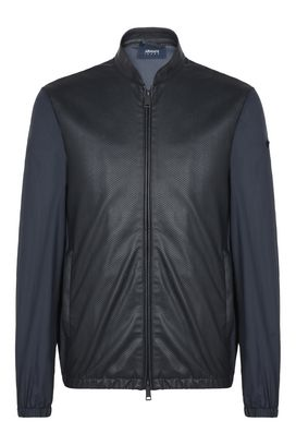 Armani Blouson Jacket Uomo blouson jacket in similpelle e tessuto tecnico