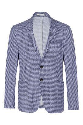 Armani Giacche a due bottoni Uomo giacca due bottoni 100% cotone fantasia bicolore