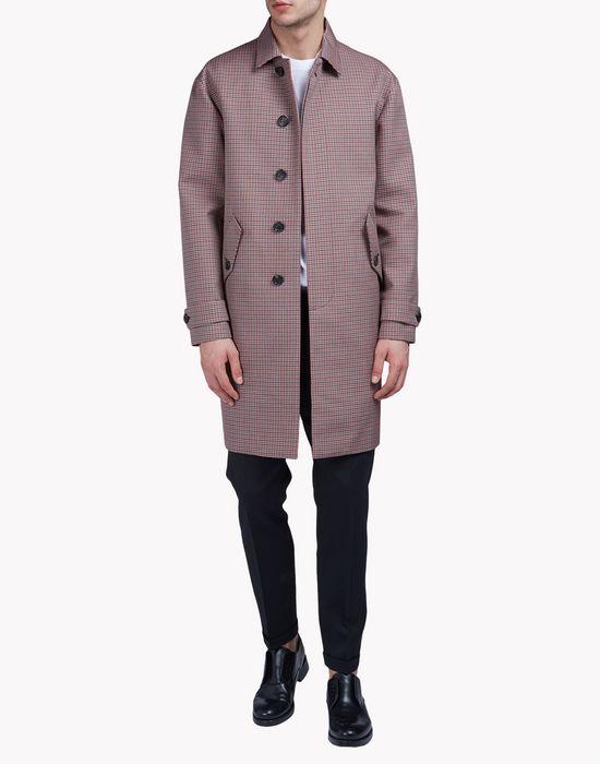 check jacquard coat ropa de abrigo Hombre Dsquared2