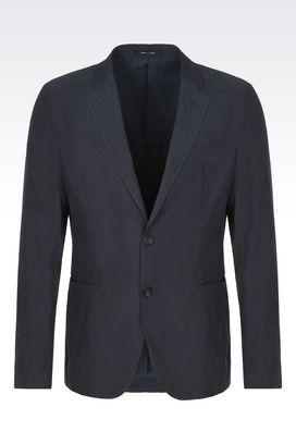 Armani Giacche a due bottoni Uomo giacca monopetto in tessuto tecnico