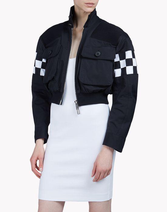 checkerboard bomber jacket ropa de abrigo Mujer Dsquared2