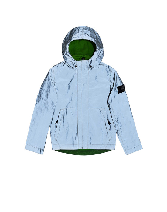 4280860a9707cf 40735 GARMENT DYED PLATED REFLECTIVE Jacket Stone Island - Official Online  Store