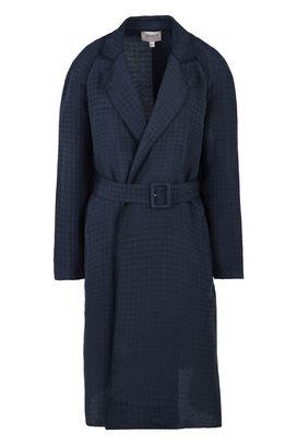 Armani Coats Women houndstooth coat