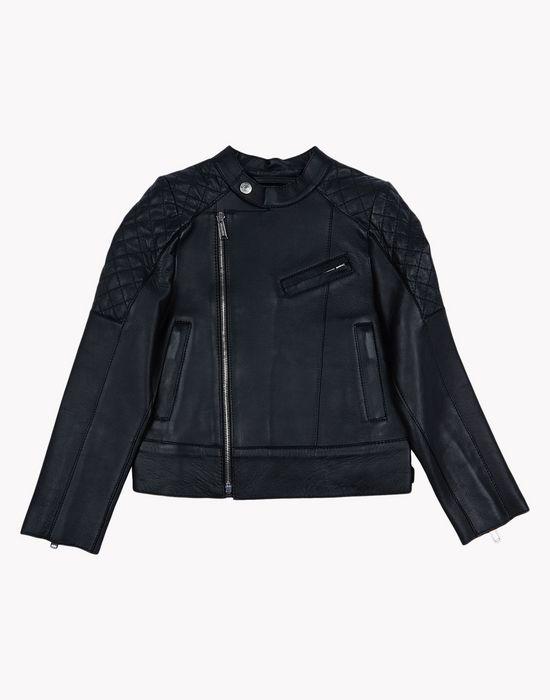 leather jacket ropa de abrigo Hombre Dsquared2