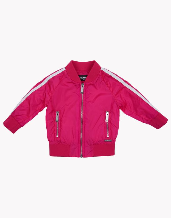 varsity bomber jacket coats & jackets Woman Dsquared2
