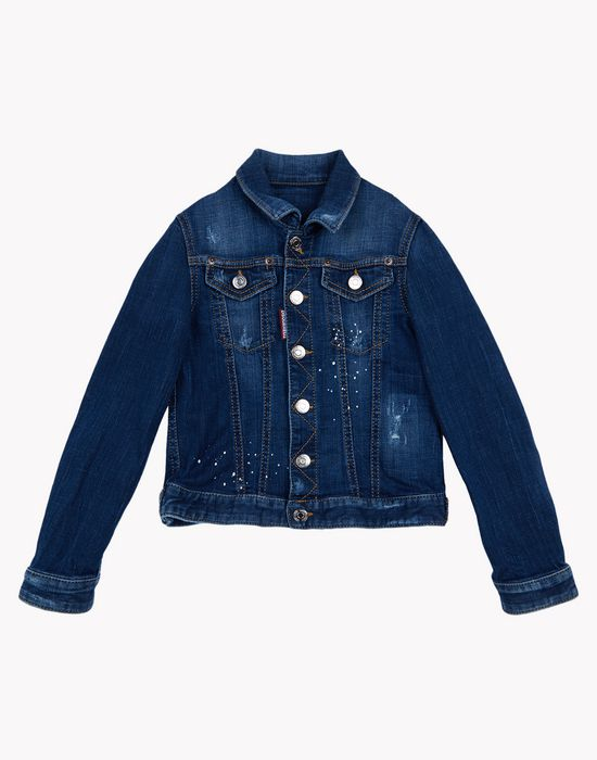d2 denim jacket  ropa de abrigo Hombre Dsquared2