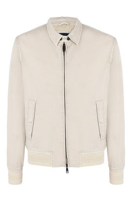 Armani Blouson Jacket Men 100% cotton blouson jacket