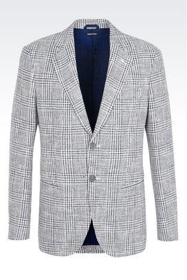 Armani Giacche Uomo giacca george in twill di lana e cotone