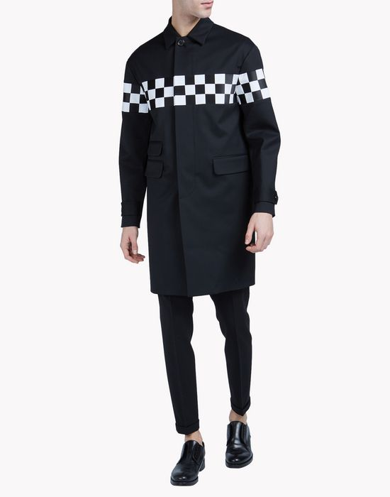 checkboard coat coats & jackets Man Dsquared2
