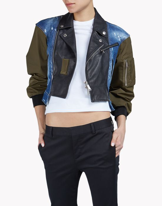 Dsquared2 Jackets & Coats for Women - Bomber, Denim | Official Store
