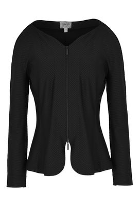 Armani Blazers Women cropped stretch jersey jacket