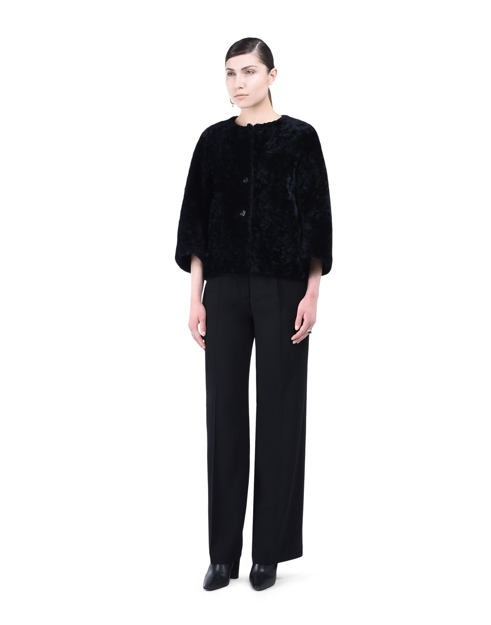 Outerwear in leather - JIL SANDER Online Store