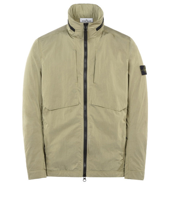 STONE ISLAND LIGHTWEIGHT JACKET Q1036 NYLON METAL FLOCK