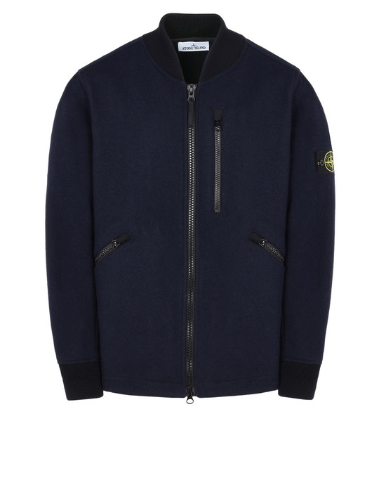 STONE ISLAND Mid-length jacket 43948 PANNO SPECIALE