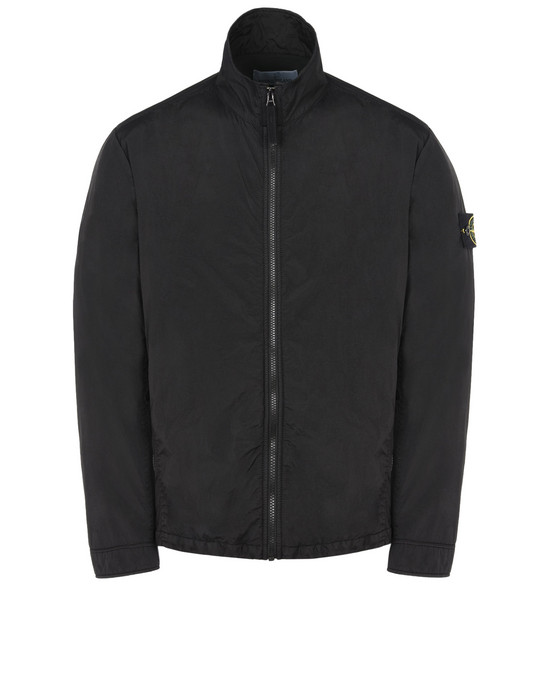 STONE ISLAND LIGHTWEIGHT JACKET Q0323 GARMENT DYED CRINKLE REPS NY