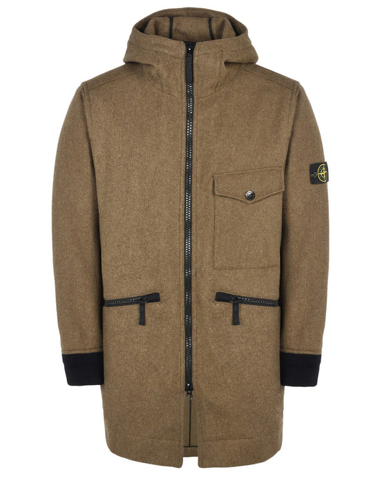 STONE ISLAND Mid-length jacket 44248 PANNO SPECIALE
