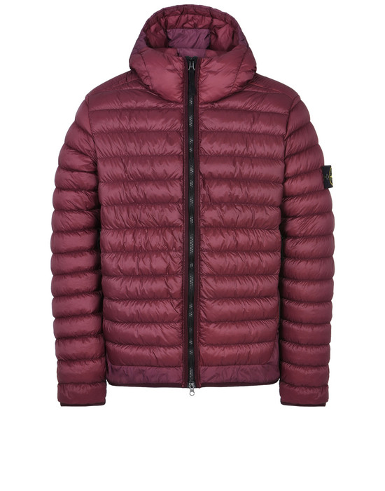 STONE ISLAND Mid-length jacket 40124 GARMENT DYED MICRO YARN DOWN