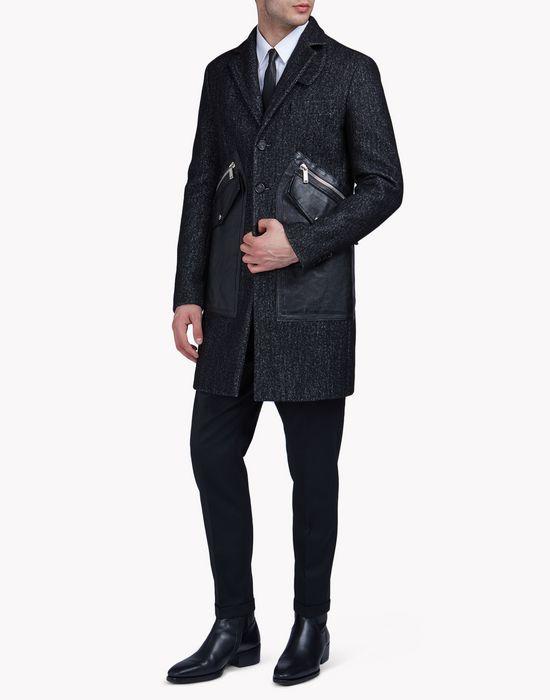 wool tokyo coat coats & jackets Man Dsquared2