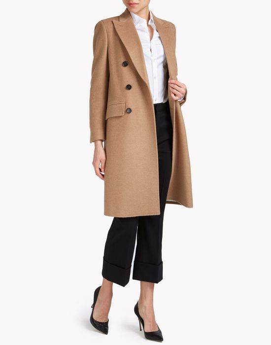 double-breasted wool coat capispalla Donna Dsquared2