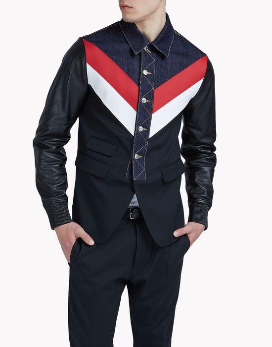 brit-rock blazer ropa de abrigo Hombre Dsquared2
