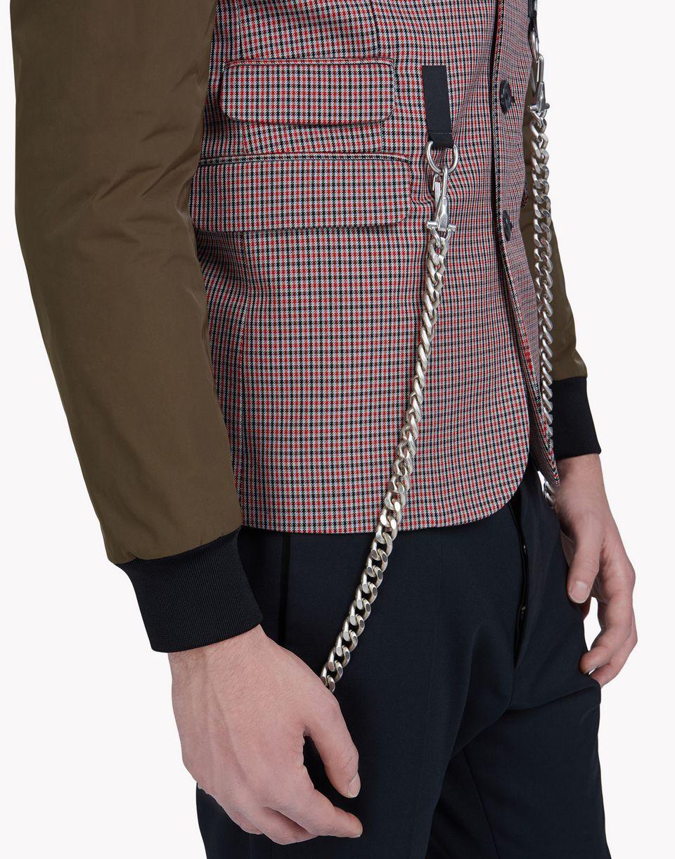 chain bomber blazer coats & jackets Man Dsquared2