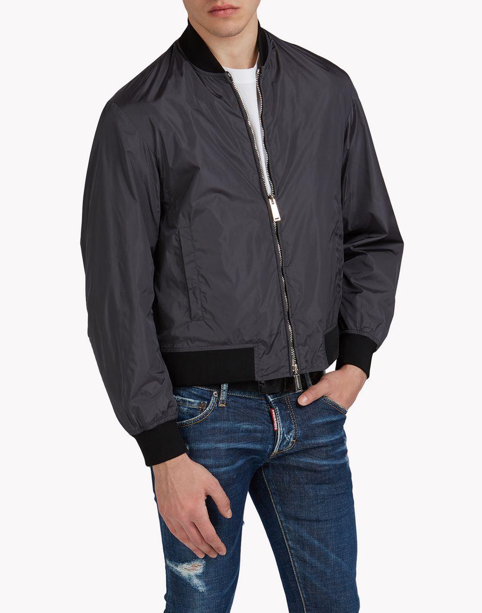 allover bomber jacket coats & jackets Man Dsquared2