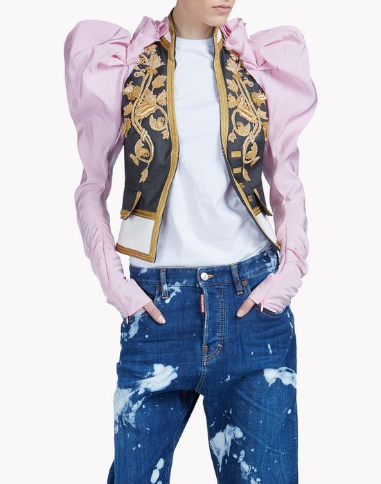 heraldic jacket coats & jackets Woman Dsquared2