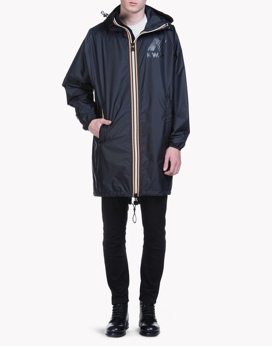 k-way reversible windbreaker parka coats & jackets Man Dsquared2