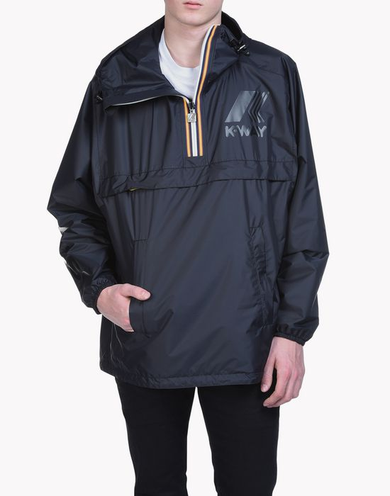 k-way reversible windbreaker anorak manteaux & vestes Homme Dsquared2