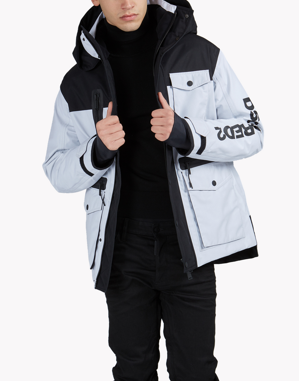 d2 ski hooded multi-pocket parka  mäntel & jacken Herren Dsquared2