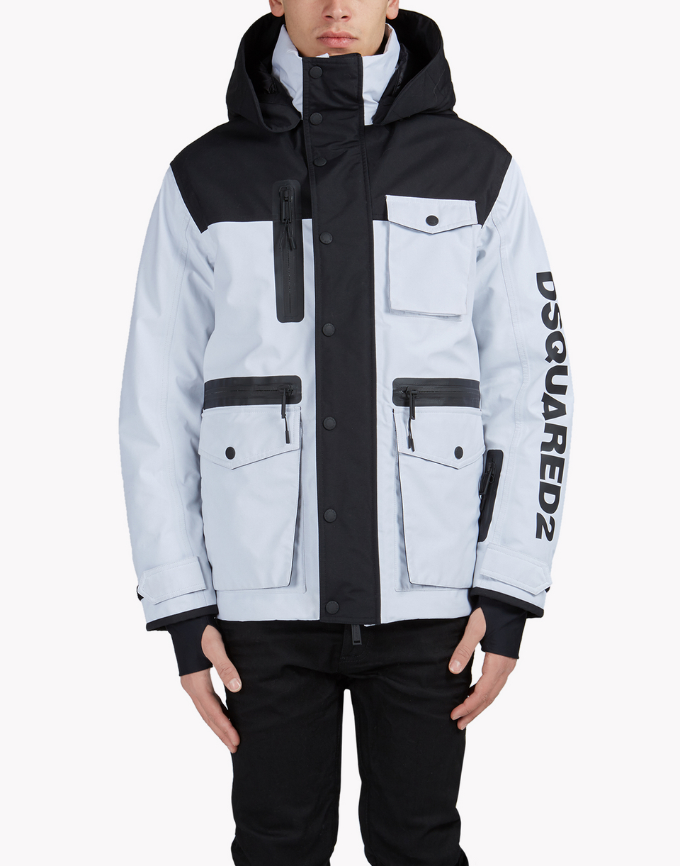 d2 ski hooded multi-pocket parka  coats & jackets Man Dsquared2