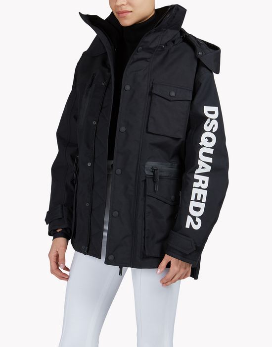 d2 technical ski jacket coats & jackets Woman Dsquared2