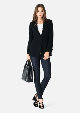 Armani Cocktail Jackets Women cady fabric jacket with shawl neck