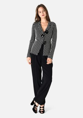 Armani Cocktail Jackets Women stretch cotton jacket with polka dots