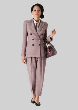 Armani Formal Jackets Women silk and wool crêpe jacket