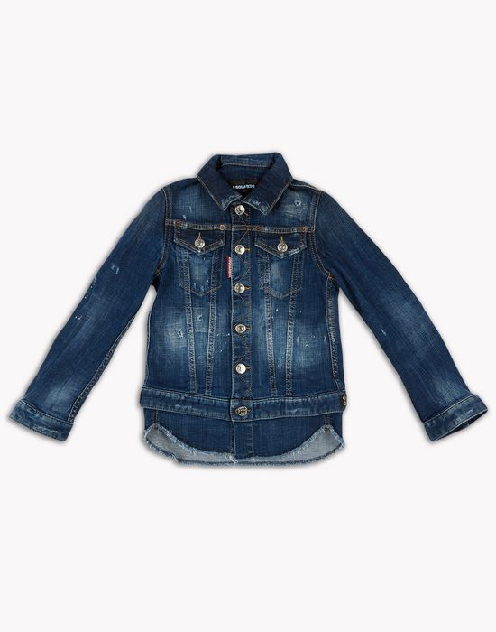 denim jacket mäntel & jacken Herren Dsquared2