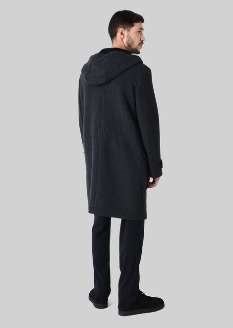 Outerwear: Peacoats Men by Armani - 3