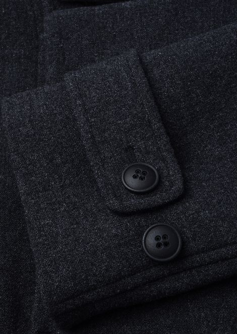 Outerwear: Peacoats Men by Armani - 4
