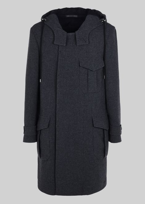 Outerwear: Peacoats Men by Armani - 2