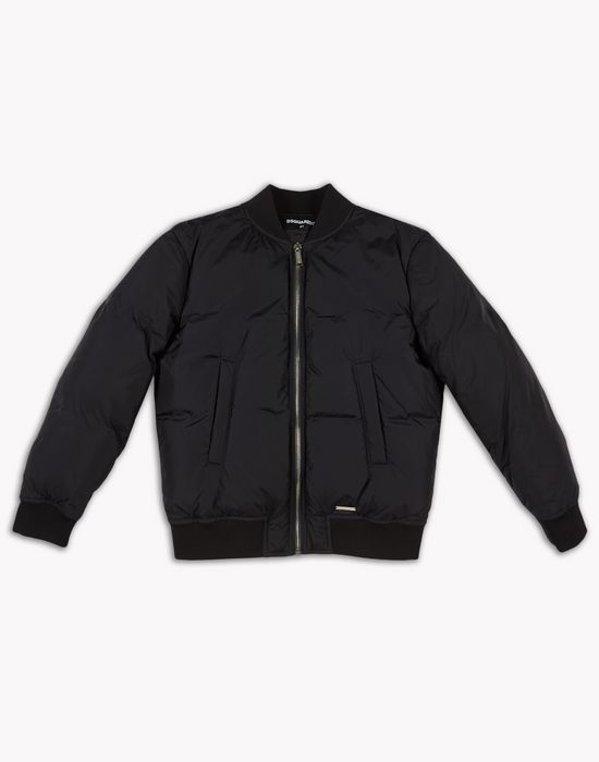 puffed bomber jacket coats & jackets Man Dsquared2