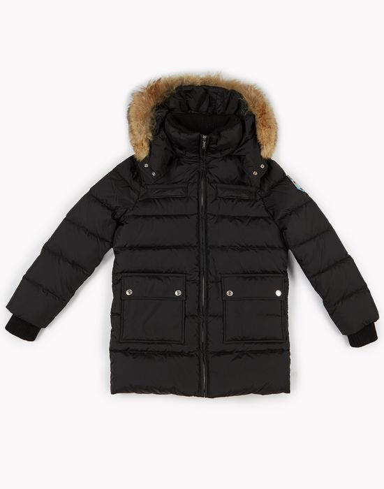 d2 mountain quilted jacket mäntel & jacken Damen Dsquared2