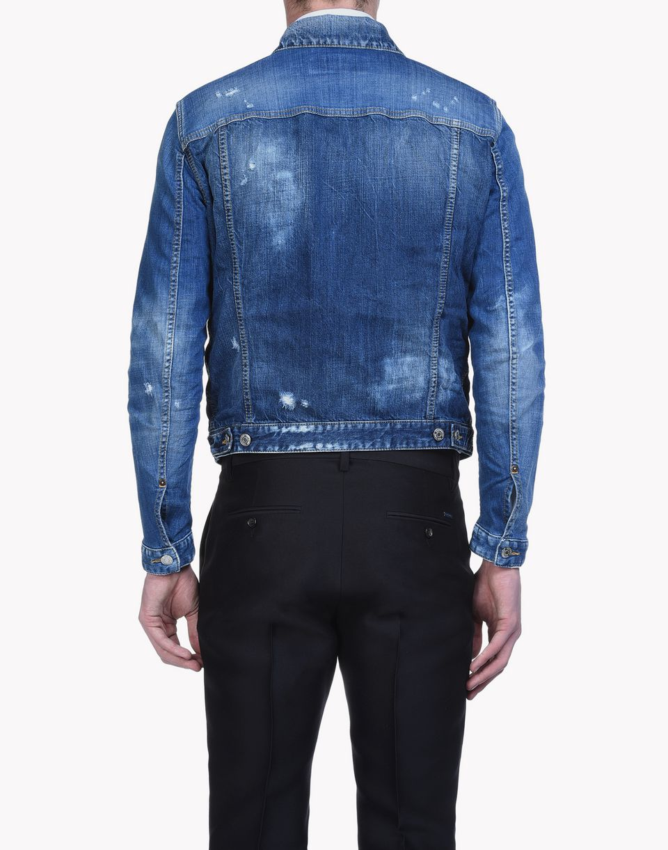 dan denim jacket coats & jackets Man Dsquared2