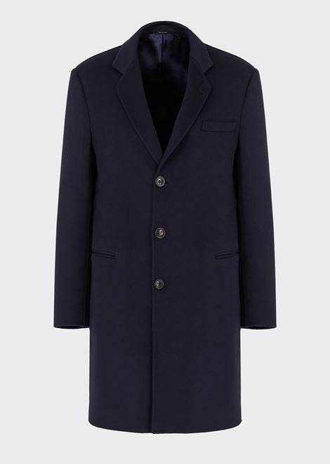 DOUBLE CASHMERE COAT: Classic Coats Men by Armani - 3