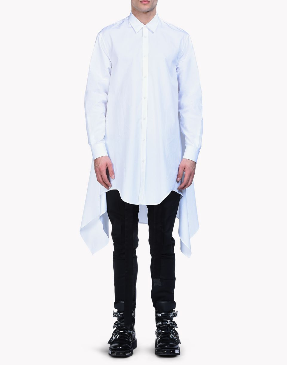 poplin chic blanket shirt shirts Man Dsquared2