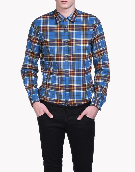 check dan shirt hemden Herren Dsquared2