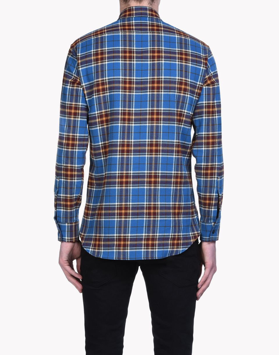 check dan shirt shirts Man Dsquared2
