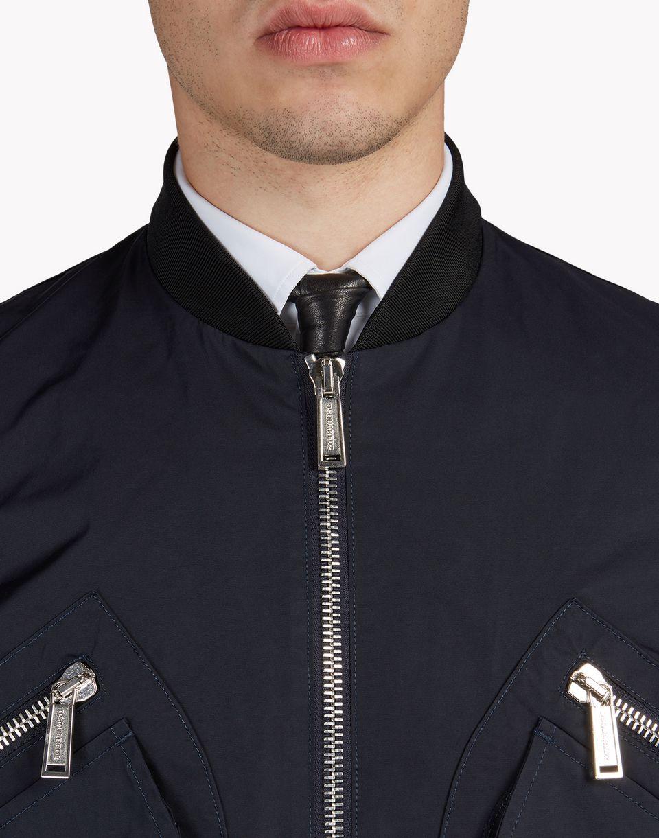 pocket memory twill bomber jacket coats & jackets Man Dsquared2